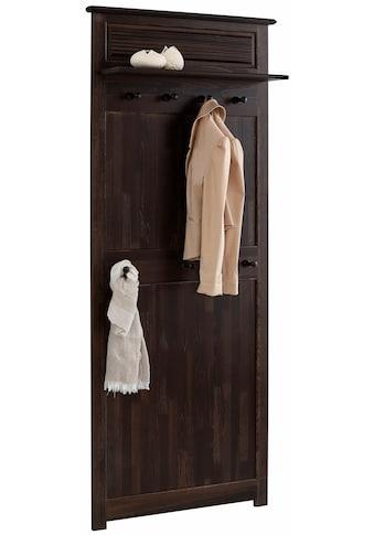 Home affaire Garderobenpaneel »Rauna«, aus massiver Kiefer kaufen