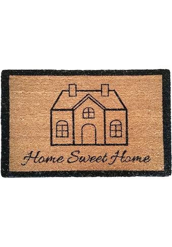 Fußmatte, »Cottage Pure 1«, ASTRA, rechteckig, Höhe 15 mm, Naturprodukt kaufen