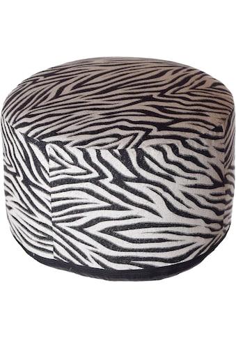 Home affaire Pouf »Zebra« kaufen