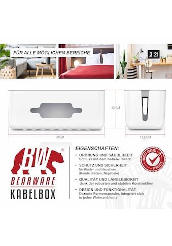BEARWARE Kabelführung »Kabelmanagement / Kabelordner / Ladebox« kaufen
