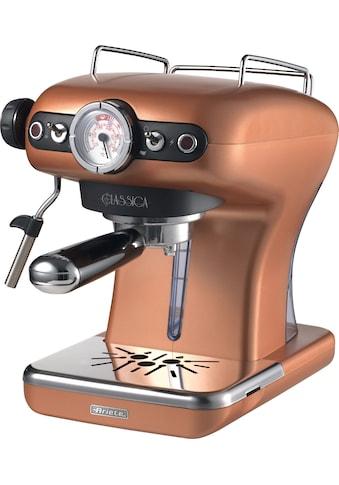 Ariete Espressomaschine »1389KU Siebträgermaschine Classia kupfer« kaufen