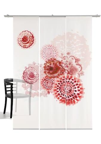 emotion textiles Schiebegardine »Batikblume«, HxB: 260x60, mit Befestigungszubehör kaufen