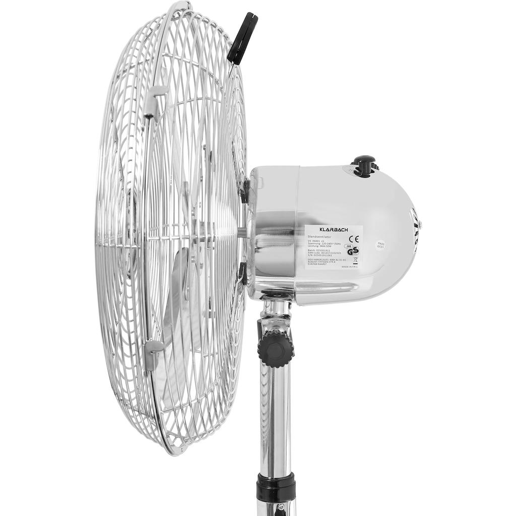 KLARBACH Tischventilator »VT 36001 ch«