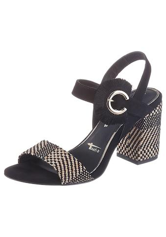 Tamaris Sandalette »Callie«, mit auffälliger Zierschnalle kaufen