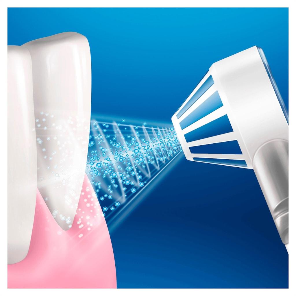 Oral B Munddusche »AquaCare 4«, 1 St. Aufsätze}, Oxyjet-Technologie