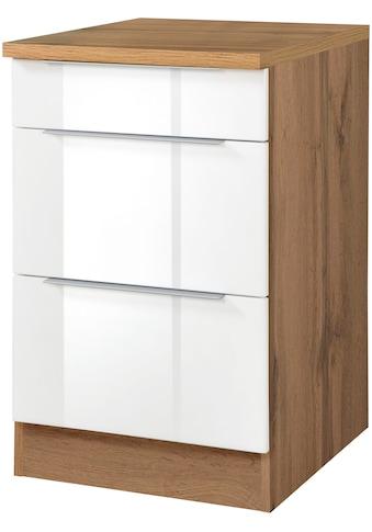 HELD MÖBEL Unterschrank »Brindisi«, 50 cm breit, inklusive 2 großer Auszüge kaufen