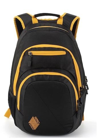 NITRO Schulrucksack »Stash Golden Black« kaufen