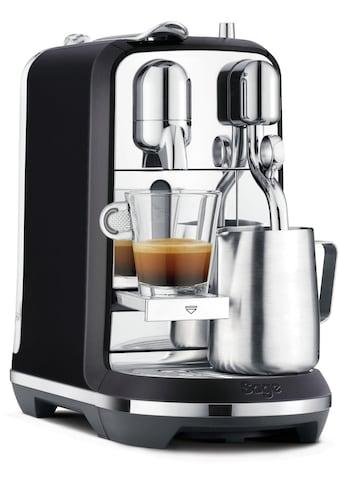 Nespresso Kapselmaschine SAGE Nespresso - Maschine »The Creatista Plus, schwarz, SNE800BTR2EGE1 « kaufen