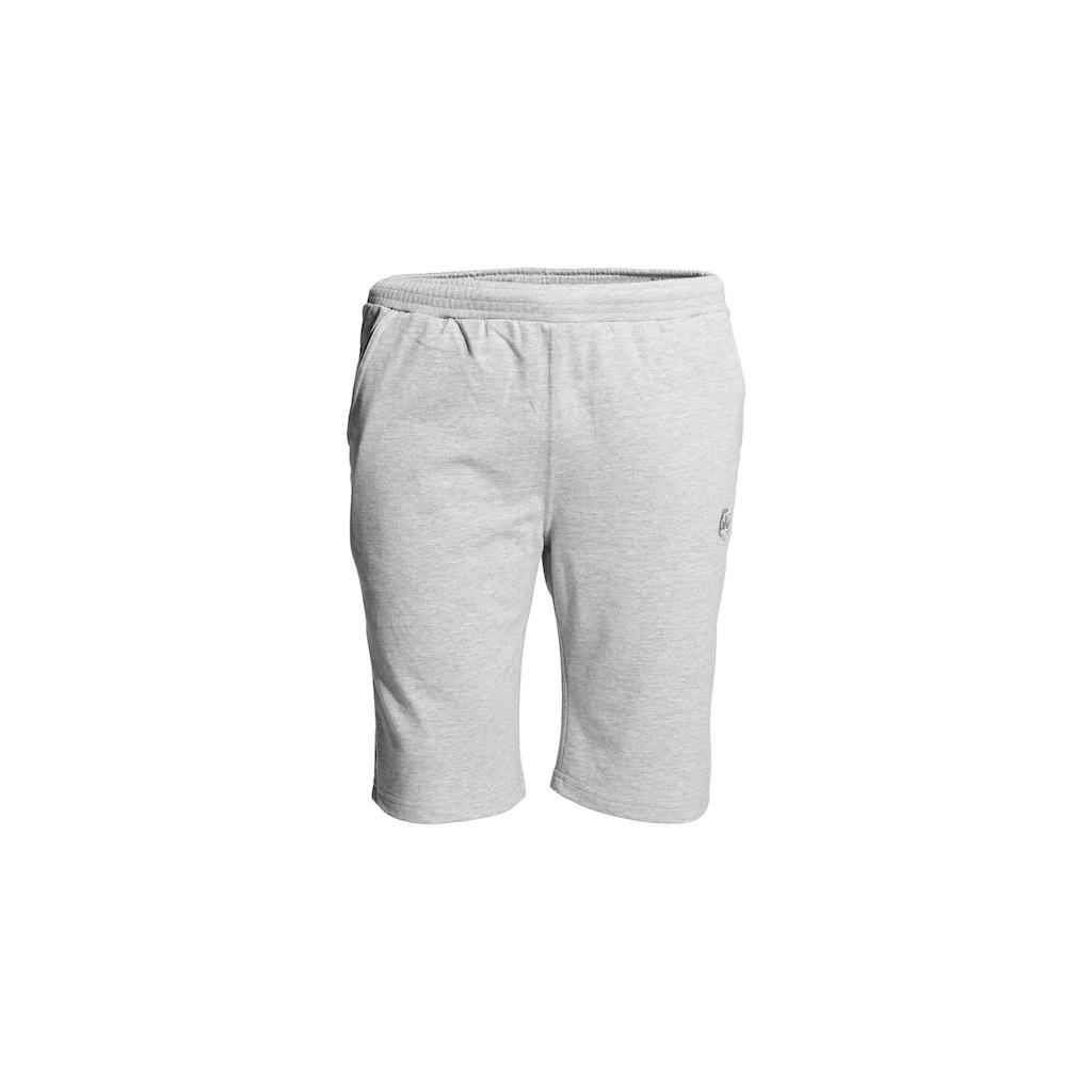 AHORN SPORTSWEAR Shorts mit Logo-Stickerei