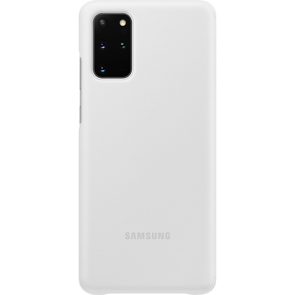 Samsung Smartphone-Hülle »Clear View Cover EF-ZG985«, Galaxy S20+