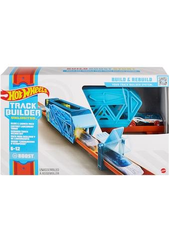 Hot Wheels Autorennbahn »Track Builder Unlimited Inline Kicker«, inklusive ein Hot... kaufen
