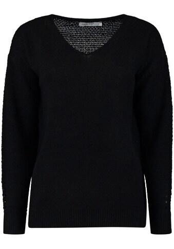 HaILY'S V-Ausschnitt-Pullover, mit Strukturmuster kaufen