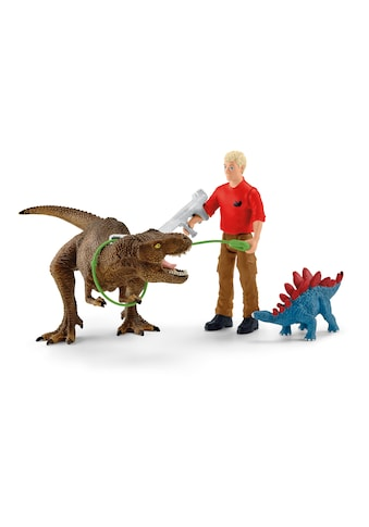 Schleich® Spielfigur »Dinosaurs, Tyrannosaurus Rex Angriff (41465)«, (Set) kaufen