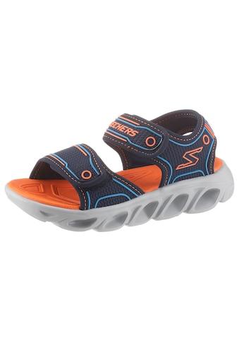 Skechers Kids Sandale »Blinkschuh Hypno-Splash Lighted«, mit Blinkfunktion an der Laufsohle kaufen