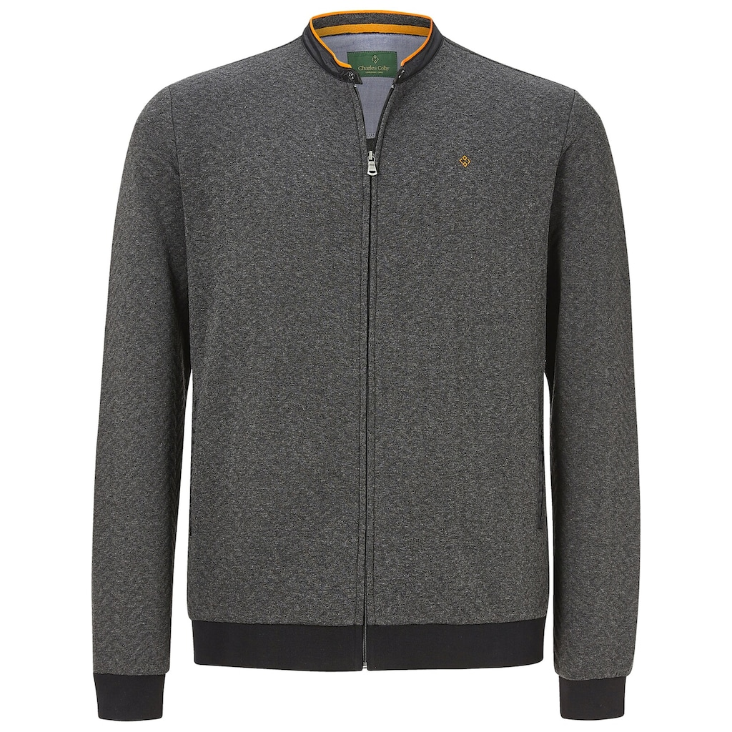 Charles Colby Sweatjacke »ANNTHONY«, smarter College-Blouson