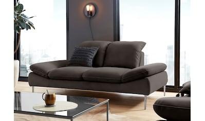 W.SCHILLIG 2,5-Sitzer »enjoy&MORE«, mit Sitztiefenverstellung, Füße silber matt,... kaufen