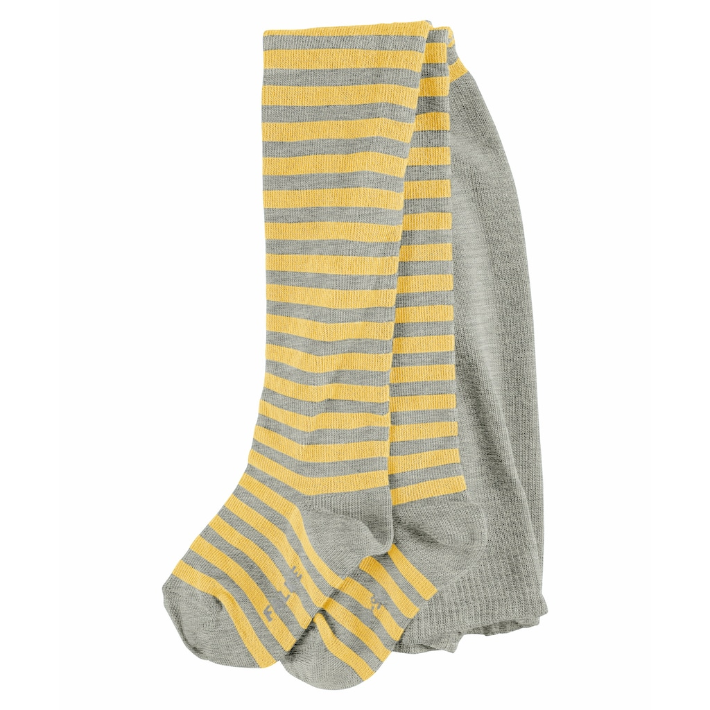FALKE Feinstrumpfhose »Stripe«, (1 St.), aus kuschelweicher Baumwolle