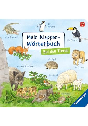 Buch »Mein Klappen-Wörterbuch: Bei den Tieren / Susanne Gernhäuser, Ursula Weller« kaufen