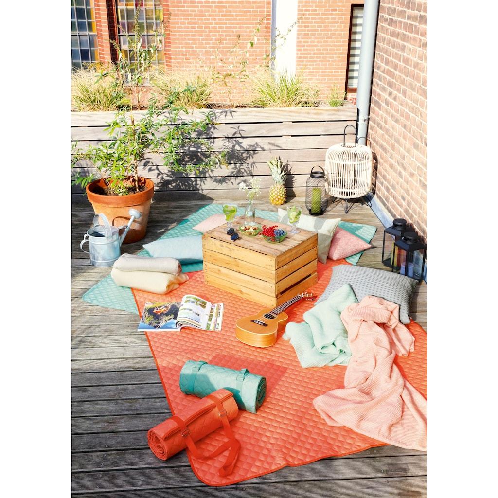 BIEDERLACK Picknickdecke »Picnic«, Nässe und Schmutz abweisende Unterseite