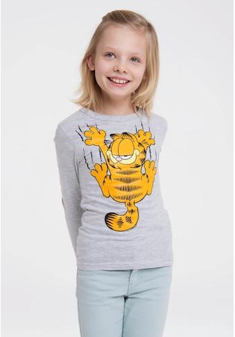 LOGOSHIRT Langarmshirt »Garfield«, mit lässigem Frontprint kaufen