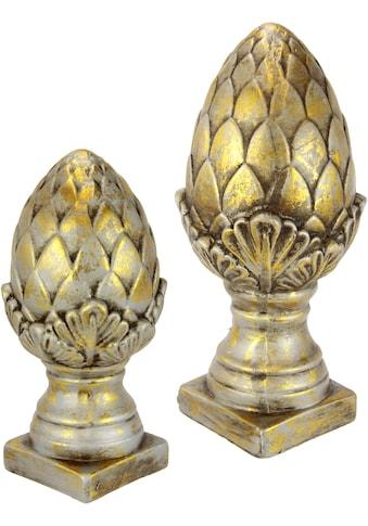 I.GE.A. Dekofigur »Keramik-Zapfen«, 2er Set kaufen