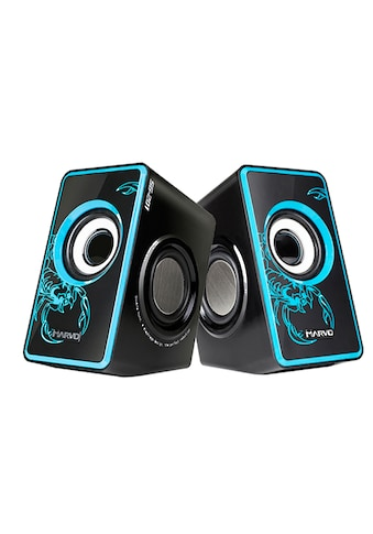 MARVO Tragbares Stereo Lautsprechersystem »SG - 201RD 2.0 Speaker« kaufen