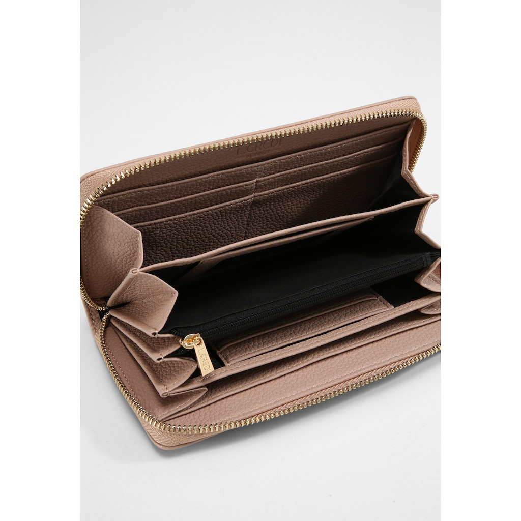 L. CREDI Brieftasche »Ella Geldbörse«, adult