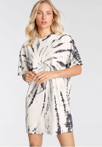 Levi's® Shirtkleid »Loki Tee Dress«, in Batik-Optik kaufen
