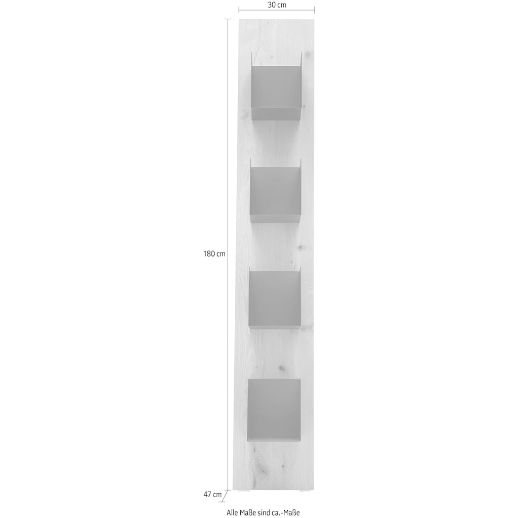 GWINNER Ablageregal »Style«, Breite 30 cm, Höhe 177 cm