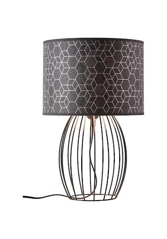 Brilliant Leuchten Tischleuchte, E27, Galance Tischleuchte Drahtbasis schwarz kaufen