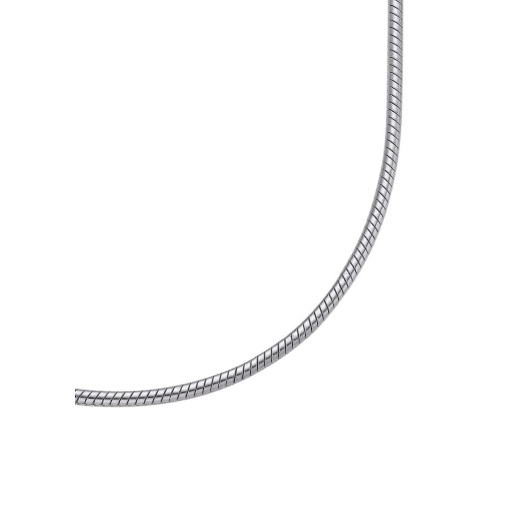 Firetti Edelstahlkette »in Schlangenkettengliederung, 1,5 mm breit«, Made in Germany