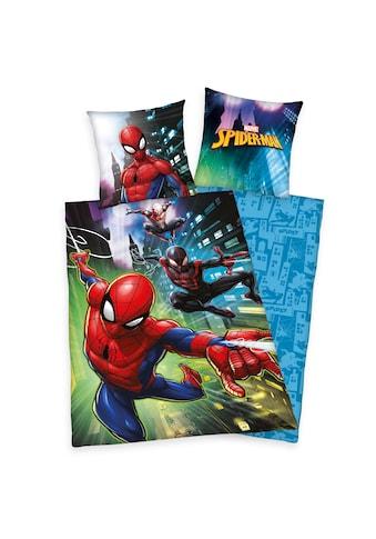 MARVEL Kinderbettwäsche »Bettwäsche Spiderman«, Wendebettwäsche mit Motiv kaufen