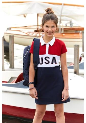 TOM TAILOR Polo Team Sommerkleid, in Colorblocking kaufen