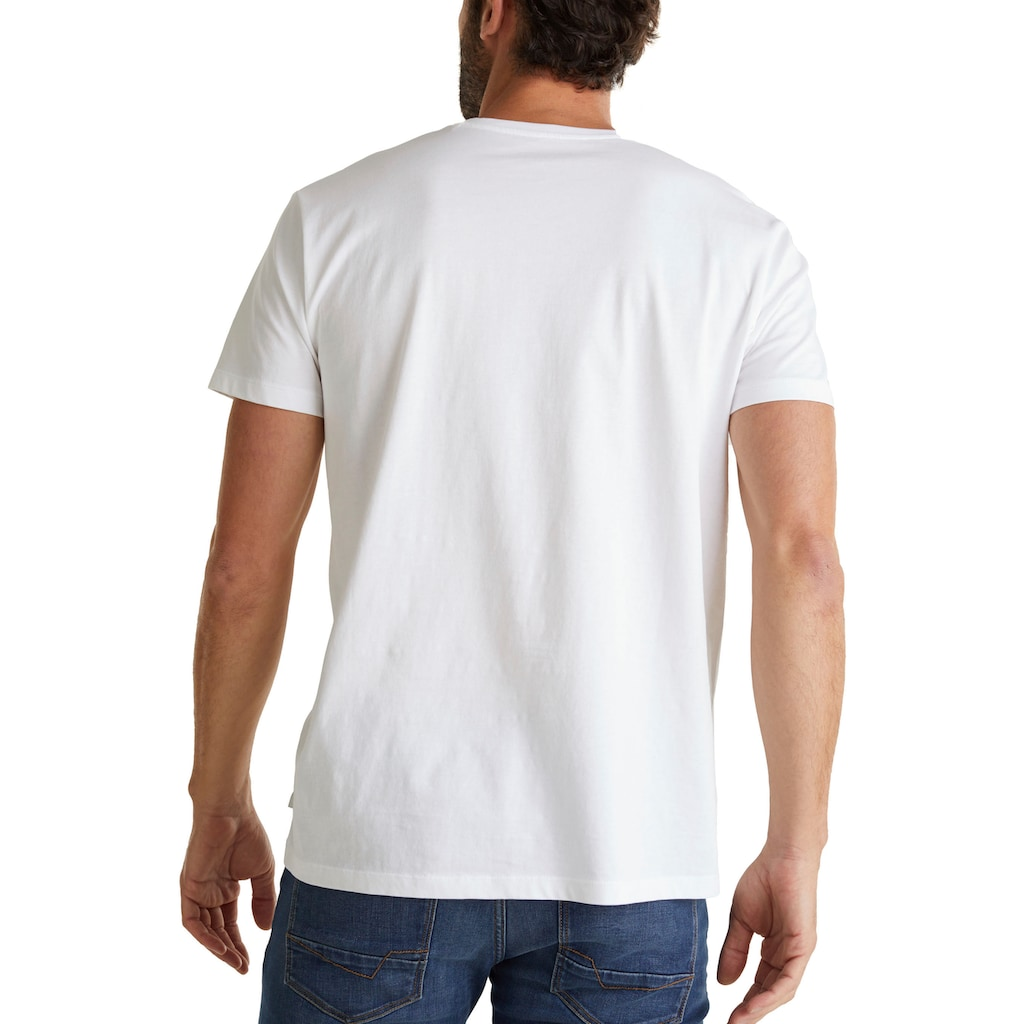Esprit T-Shirt, mit V-Ausschnitt