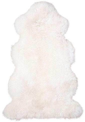 Heitmann Felle Fellteppich »Lammfell 156 weiß«, fellförmig, 70 mm Höhe, echtes... kaufen