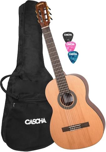 """Cascha Konzertgitarre """"Stage Series"""" 4/4 kaufen"""