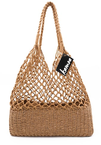 Kamoa Shopper, stabile Netztasche Naturmaterial kaufen