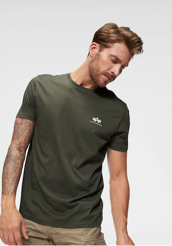 Alpha Industries Rundhalsshirt »BASIC T SMALL LOGO« kaufen