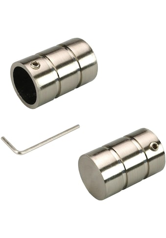 Liedeco Gardinenstangen-Endstück »Zylinder«, für Gardinenstangen Ø 16 mm kaufen