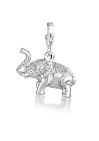 Nenalina Charm-Einhänger »Anhänger Elefant Tier Reise Verziert 925 Silber« kaufen