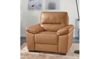 CALIA ITALIA Sessel »Gaia«, in zwei Lederqualitäten kaufen