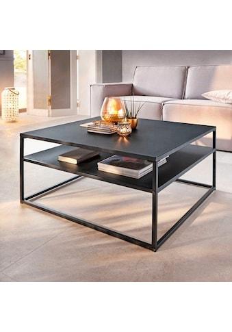 Schneider Couchtisch »Zara«, Schwarz kaufen