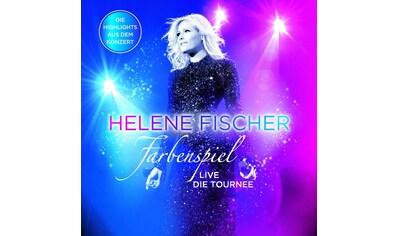 Musik - CD Farbenspiel - Live Die Tou / Fischer,Helene, (1 CD) kaufen