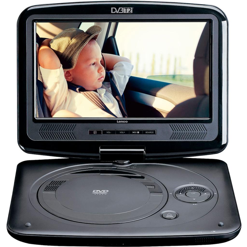 Lenco Portabler DVD-Player »DVP-9463«, DVB-T2 Tuner