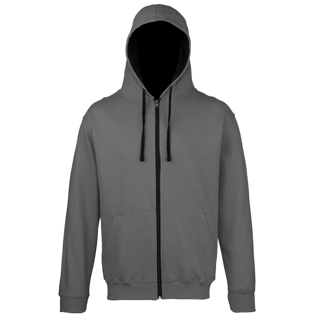 AWDIS Kapuzennickijacke »Herren Sweater Jacke mit Kapuze«