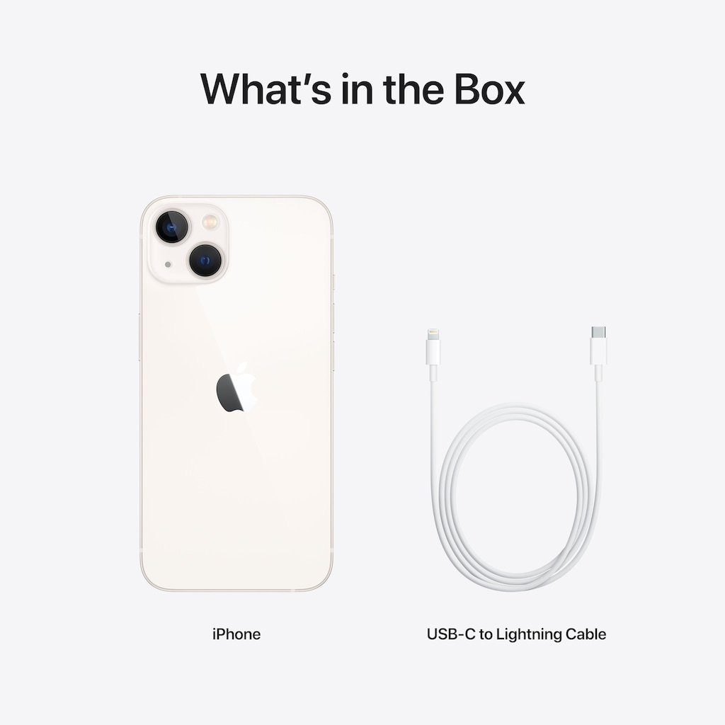 "Apple Smartphone »iPhone 13 mini, 5G«, (13,7 cm/5,4 "", 256 GB Speicherplatz, 12 MP Kamera)"