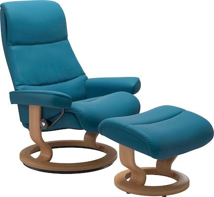 Relaxsessel in Blau