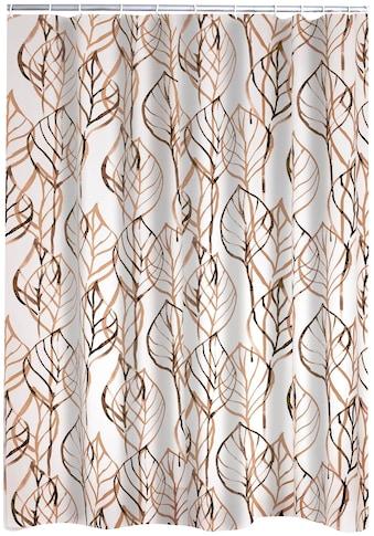 Ridder Duschvorhang »Leaves«, Breite 180 cm, Höhe 200 cm kaufen