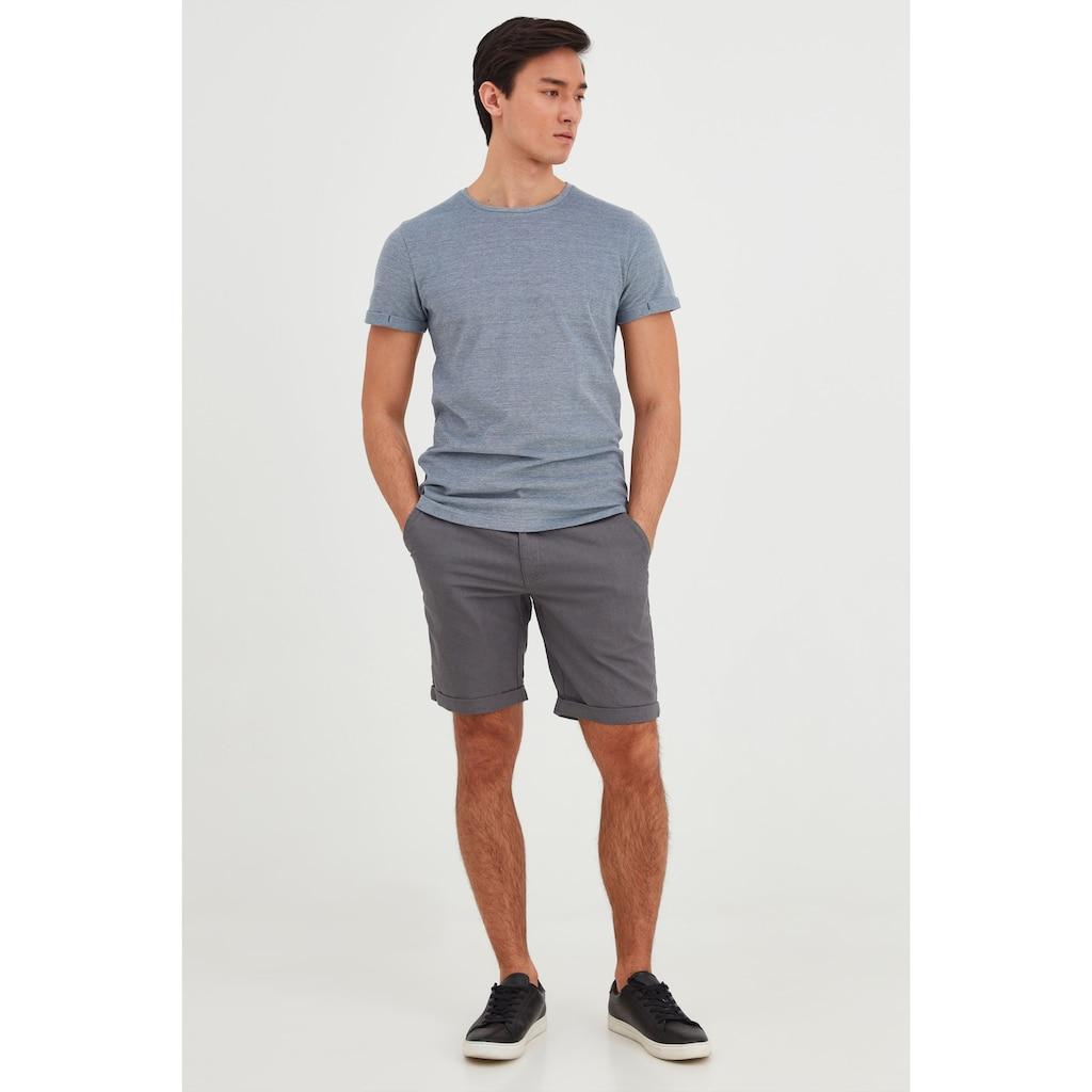 Blend Shorts »Lenno«, Leinen-Shorts mit Kordeln