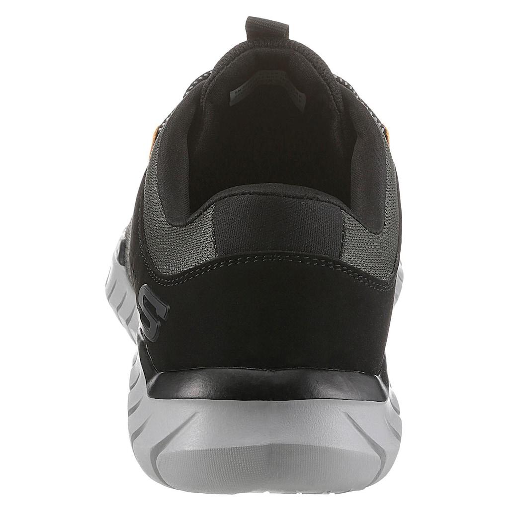 Skechers Sneaker »Overhaul«, mit Air-Cooled Memory Foam